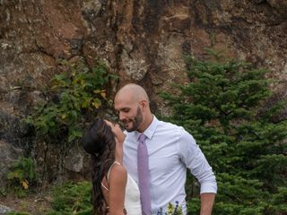 The wedding of Brandon and Emily 2