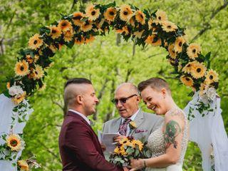 The wedding of Morgan and Brandon 1