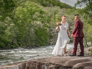 The wedding of Morgan and Brandon