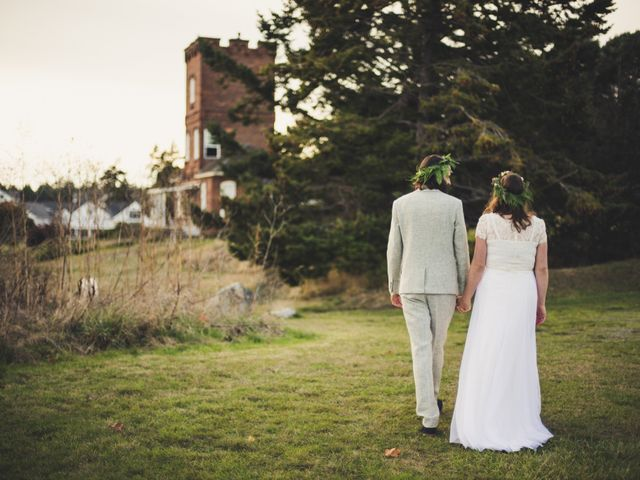 Josh and Rebecca's Wedding in Port Townsend, Washington 10
