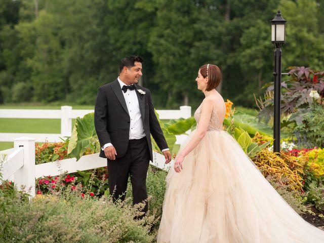 Sanjay and Lori's Wedding in Saratoga Springs, New York 21