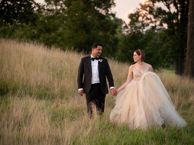 Sanjay and Lori's Wedding in Saratoga Springs, New York 42