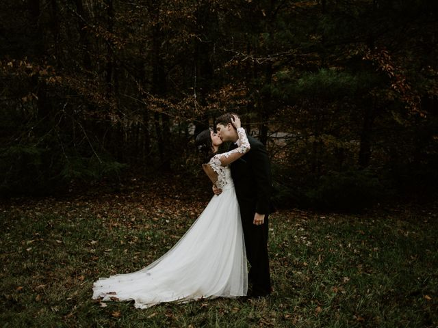 The wedding of Angela and Mike