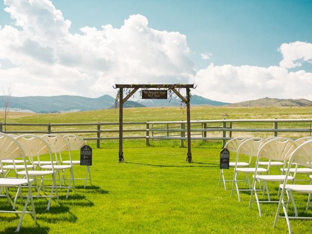 Ethan and Jessica's Wedding in Whitehall, Montana 7