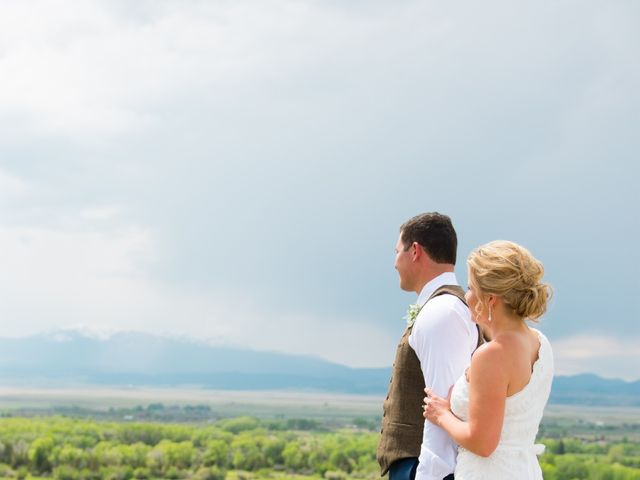Ethan and Jessica's Wedding in Whitehall, Montana 25