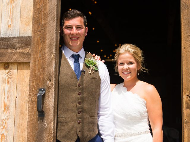 Ethan and Jessica's Wedding in Whitehall, Montana 27