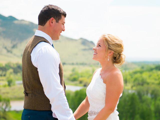 Ethan and Jessica's Wedding in Whitehall, Montana 28