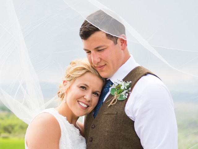 Ethan and Jessica's Wedding in Whitehall, Montana 29