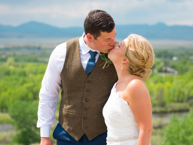 Ethan and Jessica's Wedding in Whitehall, Montana 31