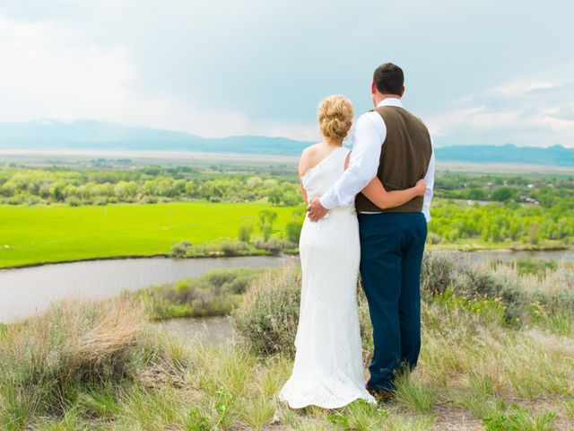 Ethan and Jessica's Wedding in Whitehall, Montana 32