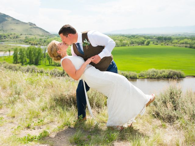 Ethan and Jessica's Wedding in Whitehall, Montana 33