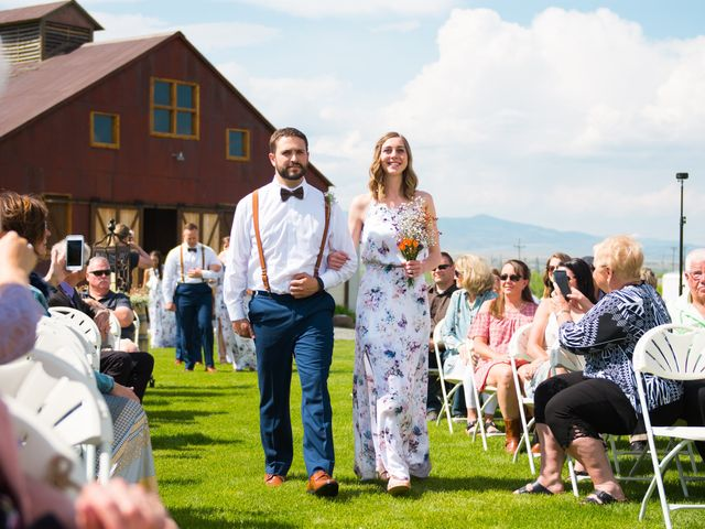 Ethan and Jessica's Wedding in Whitehall, Montana 36