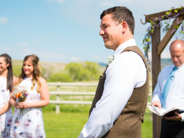 Ethan and Jessica's Wedding in Whitehall, Montana 38