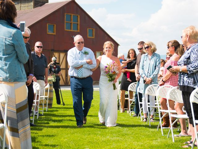 Ethan and Jessica's Wedding in Whitehall, Montana 39