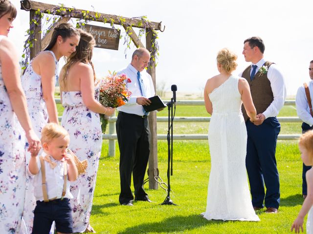 Ethan and Jessica's Wedding in Whitehall, Montana 40