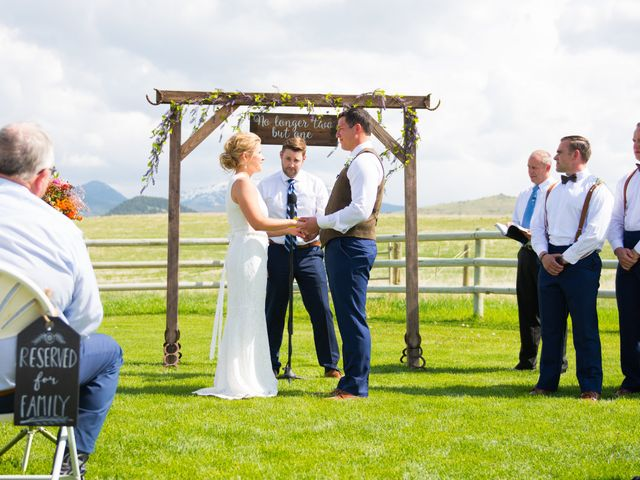 Ethan and Jessica's Wedding in Whitehall, Montana 42