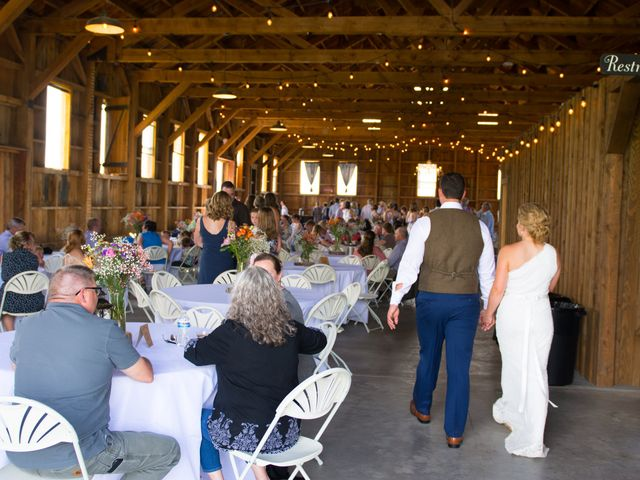 Ethan and Jessica's Wedding in Whitehall, Montana 44