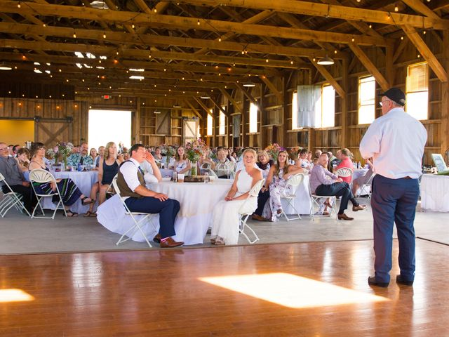 Ethan and Jessica's Wedding in Whitehall, Montana 47