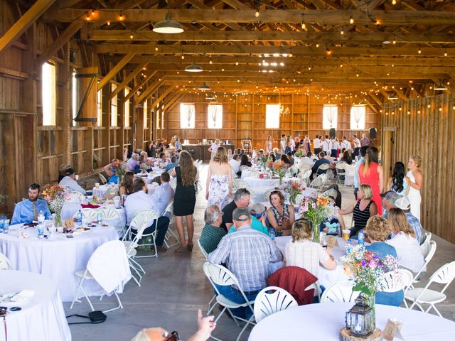 Ethan and Jessica's Wedding in Whitehall, Montana 52