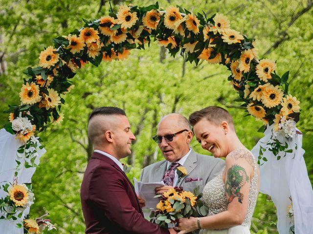 Brandon and Morgan's Wedding in Fairmont, West Virginia 3