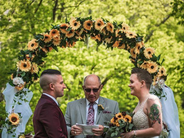 Brandon and Morgan's Wedding in Fairmont, West Virginia 4