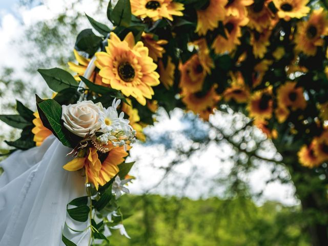Brandon and Morgan's Wedding in Fairmont, West Virginia 5