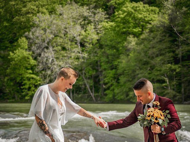 Brandon and Morgan's Wedding in Fairmont, West Virginia 9
