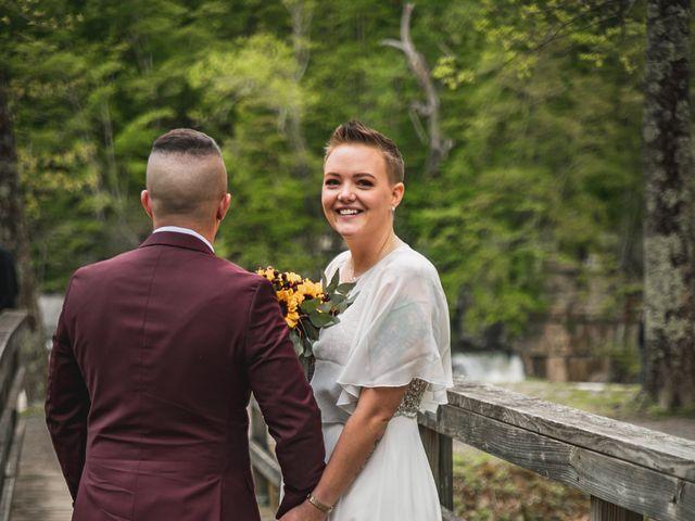 Brandon and Morgan's Wedding in Fairmont, West Virginia 11