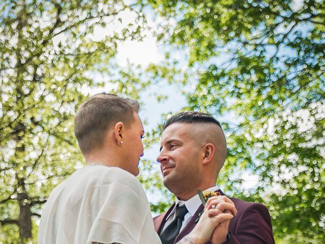 Brandon and Morgan's Wedding in Fairmont, West Virginia 12