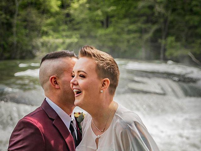 Brandon and Morgan's Wedding in Fairmont, West Virginia 13
