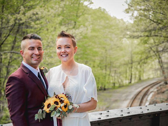 Brandon and Morgan's Wedding in Fairmont, West Virginia 15
