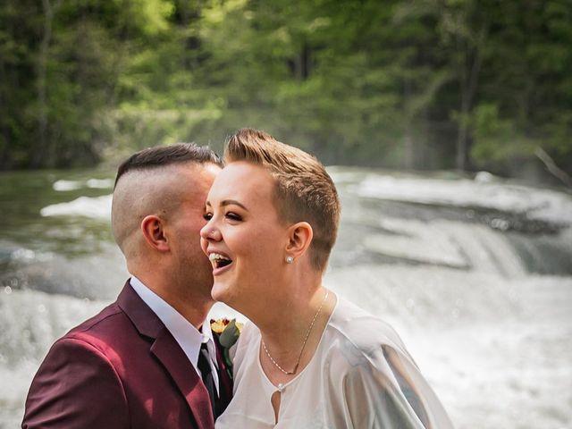 Brandon and Morgan's Wedding in Fairmont, West Virginia 19