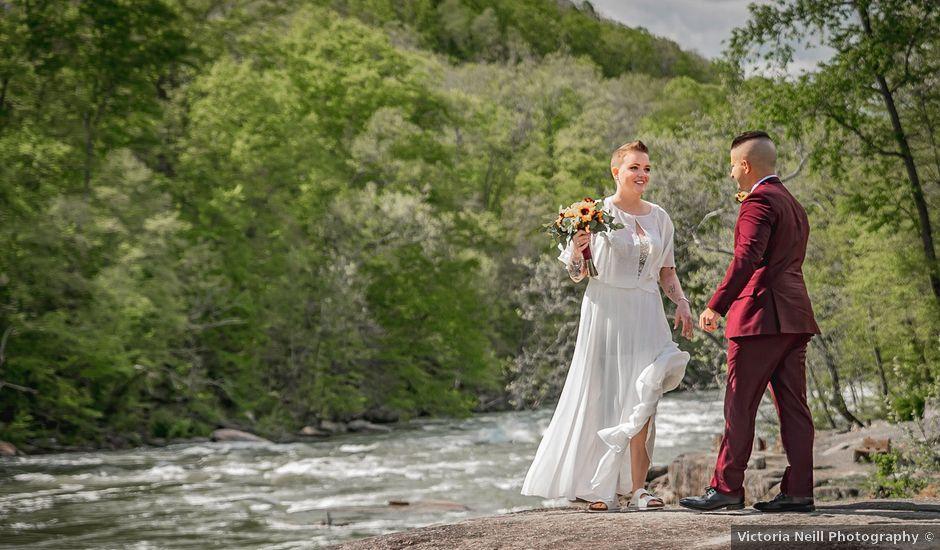 Brandon and Morgan's Wedding in Fairmont, West Virginia