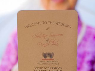 Christine and Daniel's Wedding in Sonoma, California 15