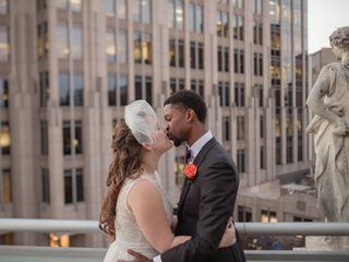 The wedding of Kristin and Jonathan