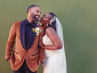 The wedding of Amber and Laquam