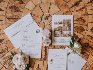 The wedding of Ryan and Sara 1