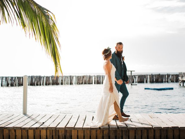Jody and Tiffany's Wedding in Belize District, Belize 14