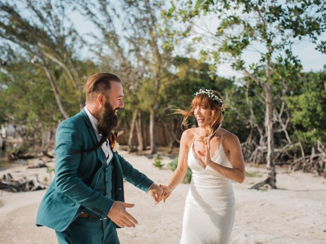 Jody and Tiffany's Wedding in Belize District, Belize 34