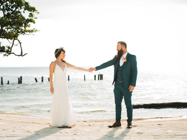 Jody and Tiffany's Wedding in Belize District, Belize 42