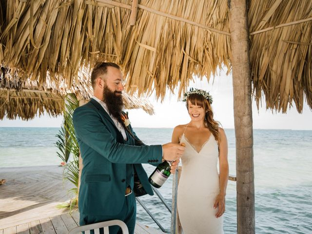 Jody and Tiffany's Wedding in Belize District, Belize 61