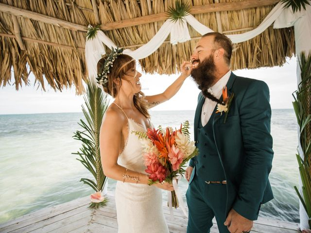 Jody and Tiffany's Wedding in Belize District, Belize 62
