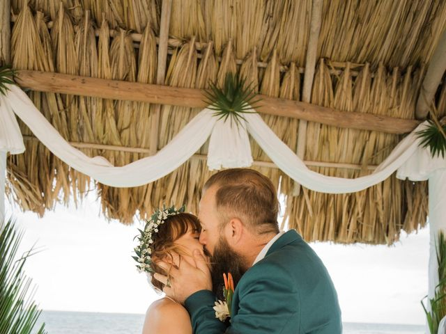 Jody and Tiffany's Wedding in Belize District, Belize 64