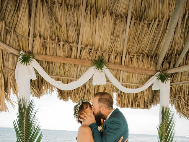 Jody and Tiffany's Wedding in Belize District, Belize 65