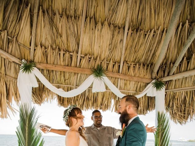 Jody and Tiffany's Wedding in Belize District, Belize 67