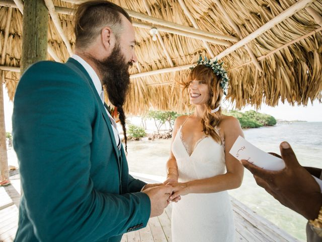 Jody and Tiffany's Wedding in Belize District, Belize 69
