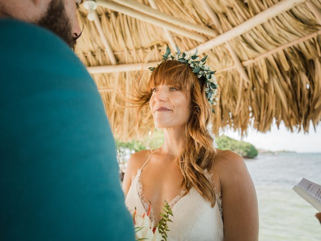 Jody and Tiffany's Wedding in Belize District, Belize 71
