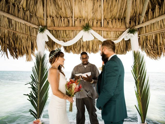 Jody and Tiffany's Wedding in Belize District, Belize 80