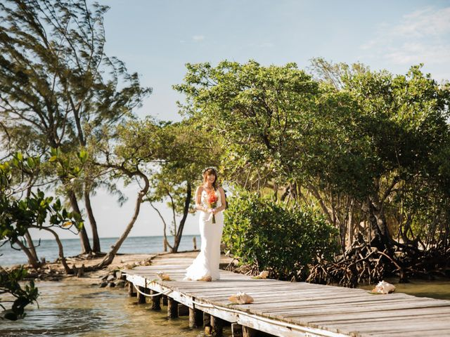Jody and Tiffany's Wedding in Belize District, Belize 82