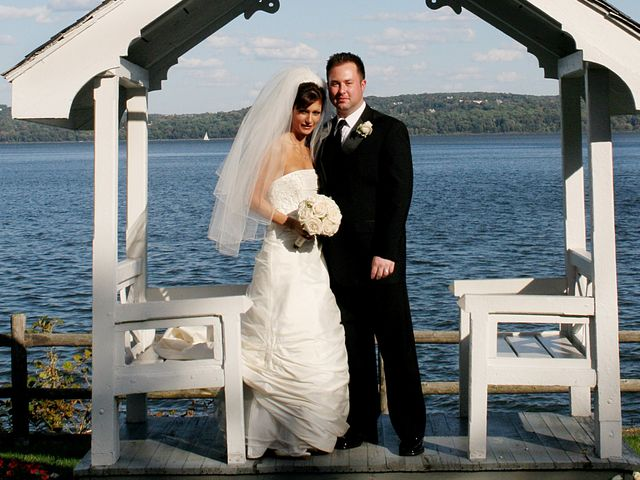 The wedding of Jennifer and Christopher
